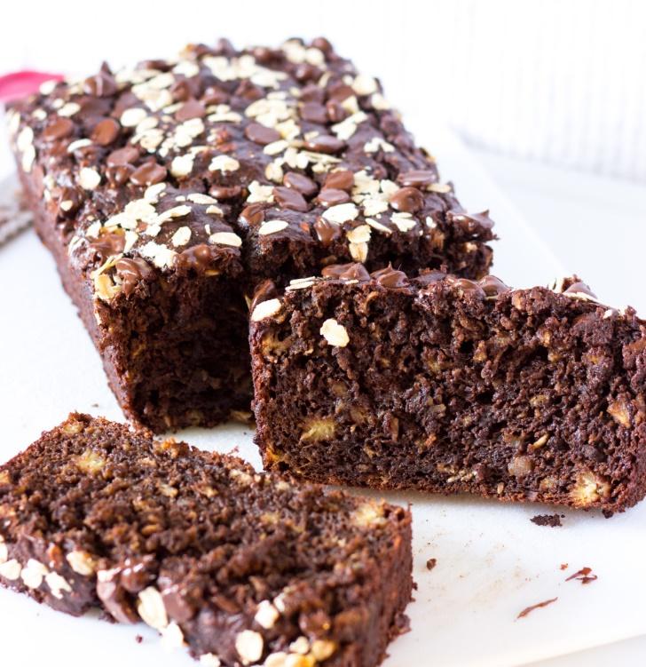 chocolate-oatmeal-banana-bread